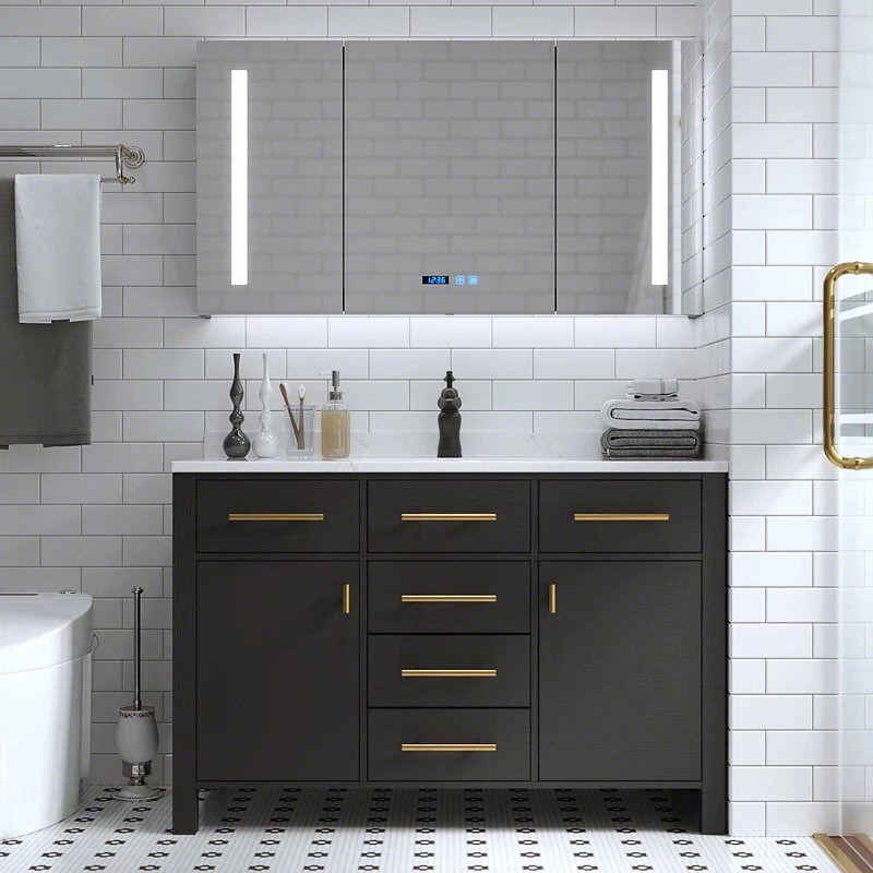 Joinery Dubai specializes in custom manufacturing of bathroom furniture listed as: benches, cabinets, drawer units, organization, vanities, washstands, shelves, storage units within UAE.