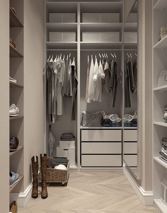 Joinery Dubai specializes as custom dressing room furniture manufacturing listed as: centre island, dressing tables, shoe storage, wardrobes, storage within Fujairah.